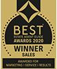 Best Estate Agents Guide Awards 2020 Winner